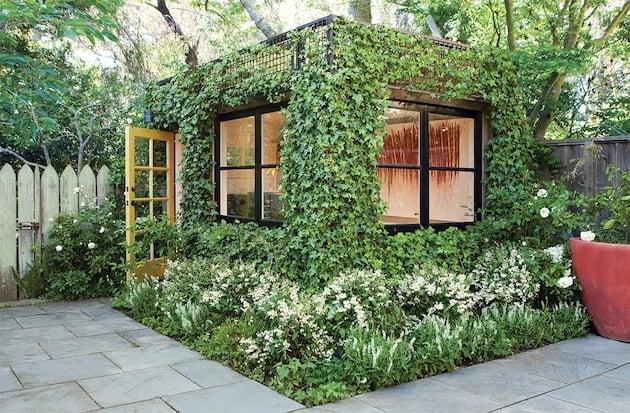 Secret Garden Cottage Designed By Scot Lewis Landscape Architecture