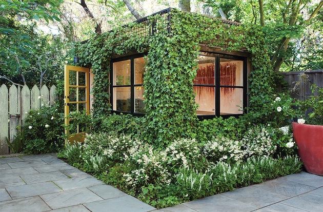 Awesome Secret Garden Cottage Designed By Scot Lewis Landscape Architecture