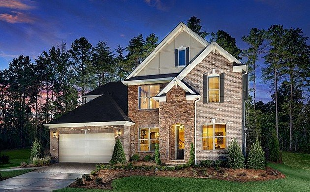 Lakeside Residence Designed By Meritage Homes