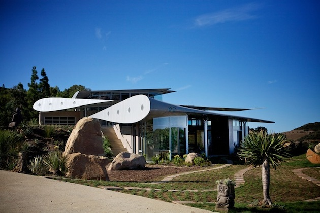 A Boeing 747 Was Upcycled Into A Stunning Malibu Home
