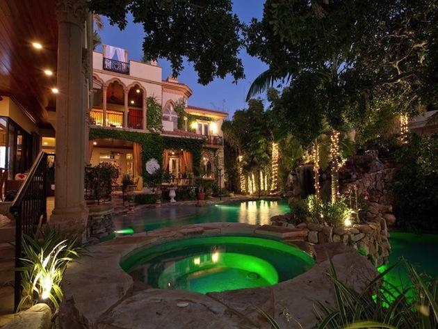 Mediterranean Style Home Of $9.9 Million
