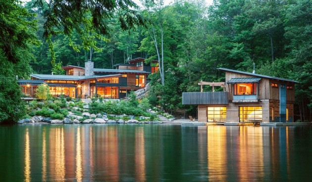Muskoka cottage by the lake for Lakes in bc with cabins