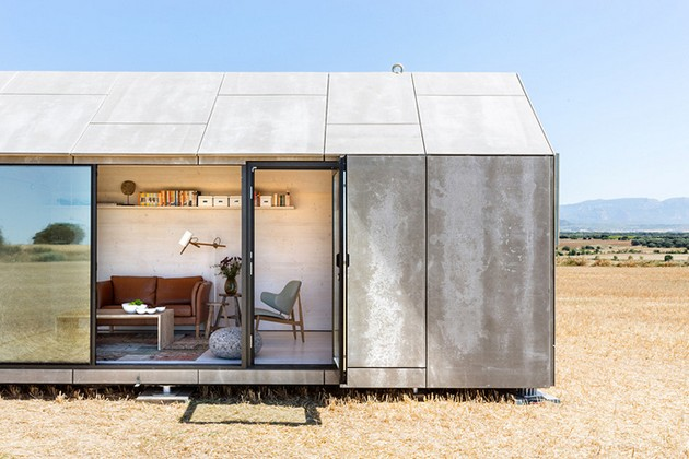 Portable Home Gives The Option Of Changing The Scenery Easily