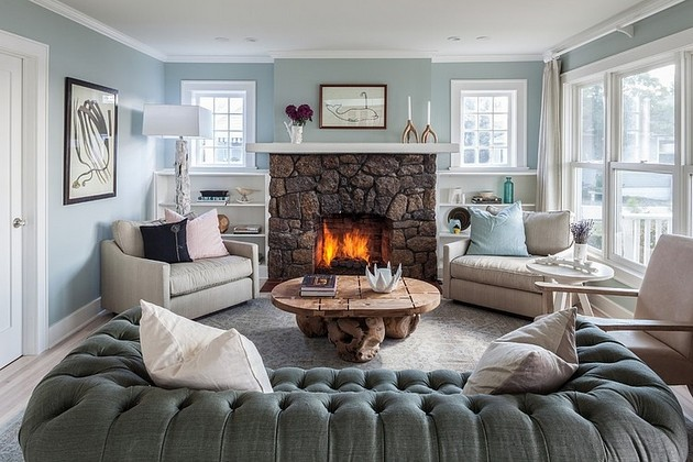 A Seaside Home Of Two Storeys Located In Newark, United States And Designed  By Stone Creek Builders Shows And Impeccable Classy Style And A Warm  Interior, ...