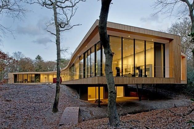 Villa K Looks Stunning In The Autumn Colors