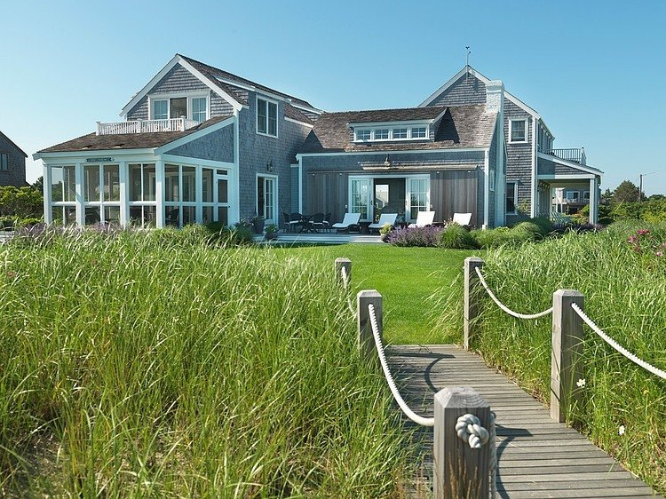 Seaside Residence From Nantucket, Beautiful Home With Beautiful ...