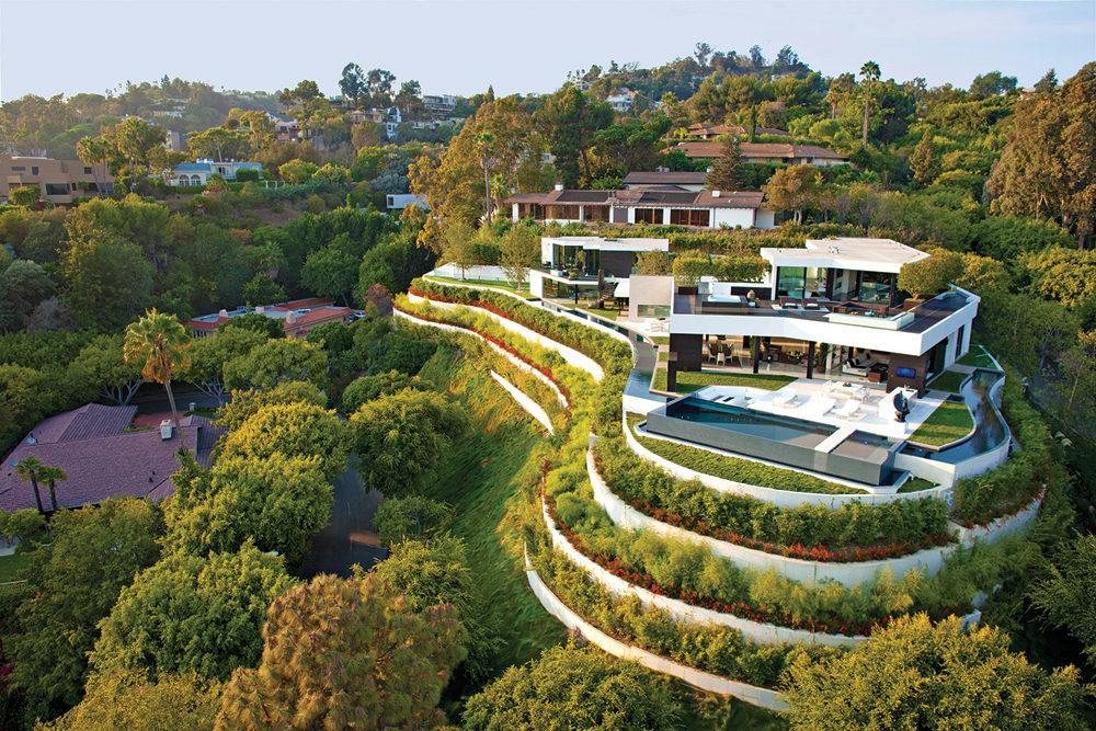 Luxury And Elegance Meet At 1201 Laurel Way, Beverly Hills