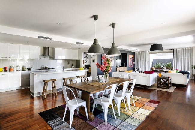 Chic And Colorful Interior Design By Collected Interiors