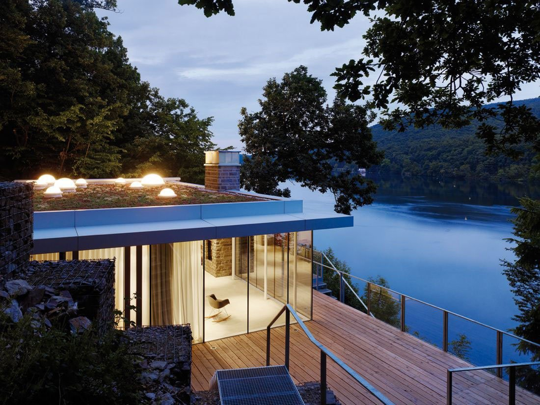 Lake House by LHVH Architekten, Dream Home For Romantics