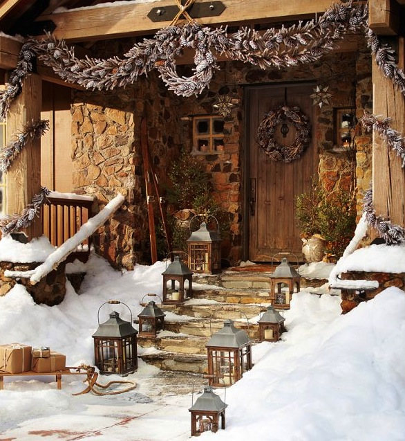 & Indoor And Outdoor Decorating Ideas For Christmas