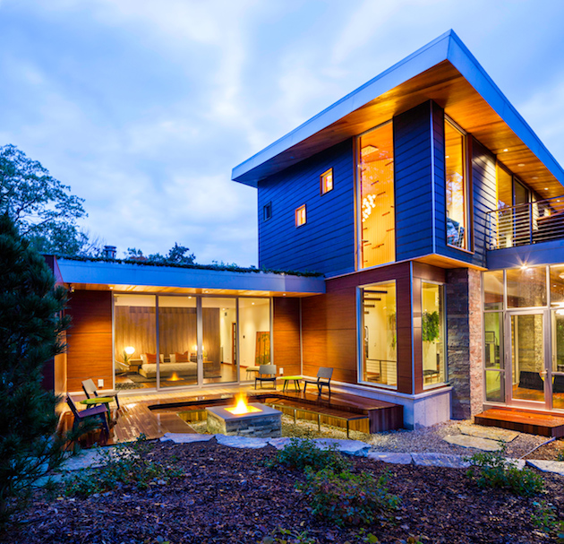 A dream home from lake michigan nimvo interior design for Home plans michigan