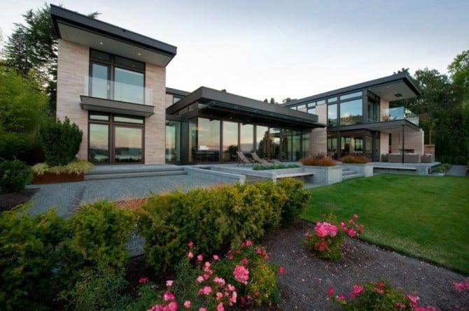 Stylish And Sober: The Washington Park Hilltop Residence