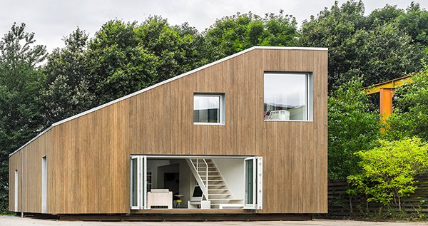 The WFH House Is Modern And Nature-Friendly