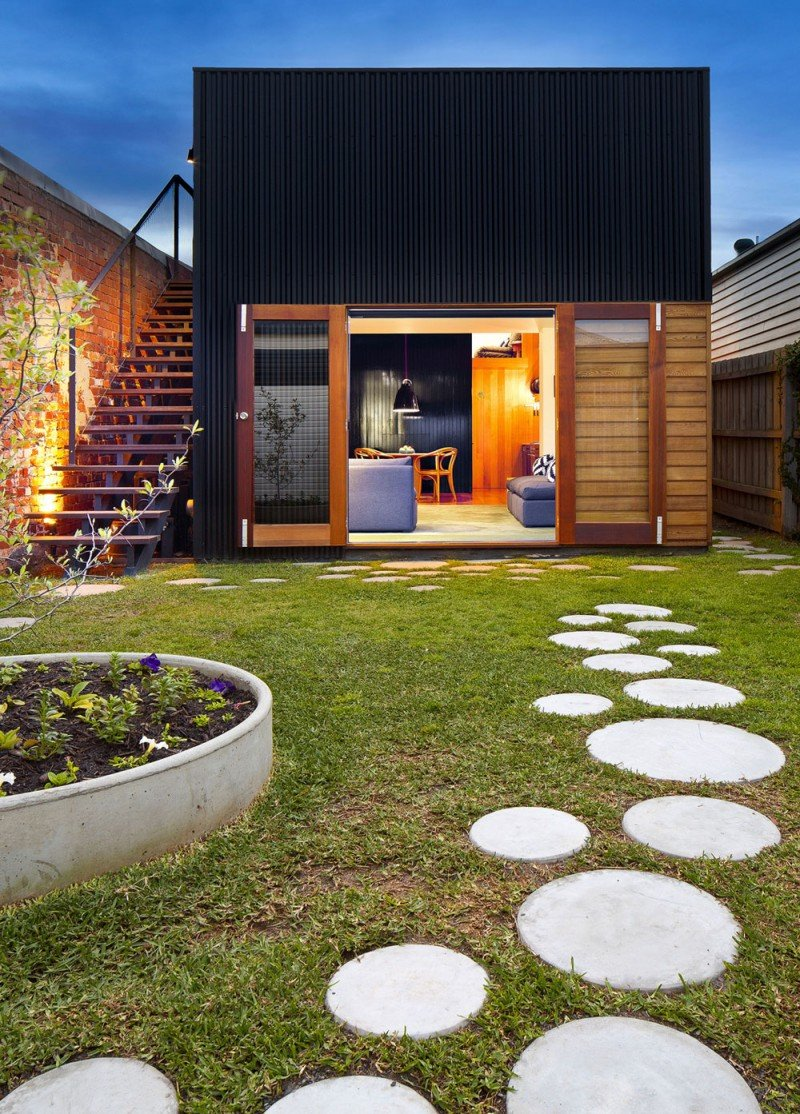 The Brunswick House Is Cozy Eco Friendly And Enjoys A Nice Private Garden