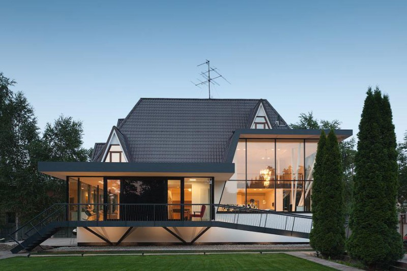 House N By 4a Architekten Is Bright, Stylish And Welcoming