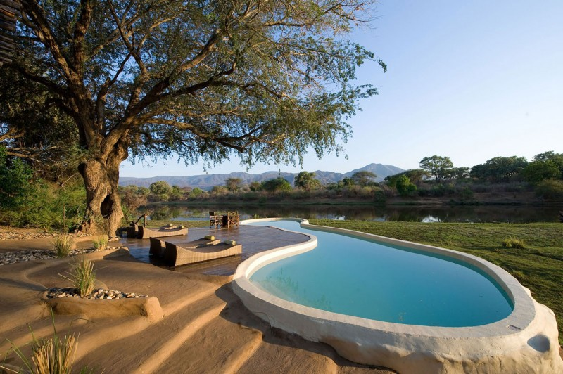 The Chongwe River House In Africa Offers A Great And Unique Experience To Its Guests