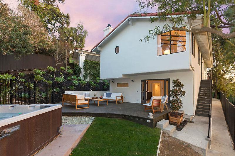 The Avengers Star Chris Evans Former Hollywood Hills Home