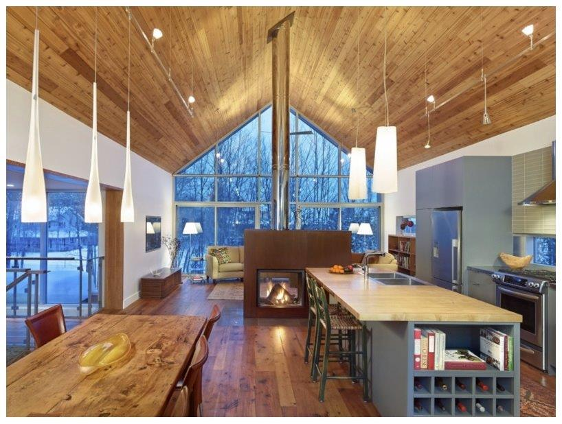 The collingwood chalet offers a relaxing retreat from the regular