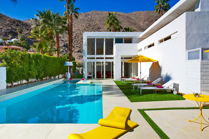 Enjoy A Relaxing Experience In A Luxurious And Stylish Place: El Portal From Palm Springs