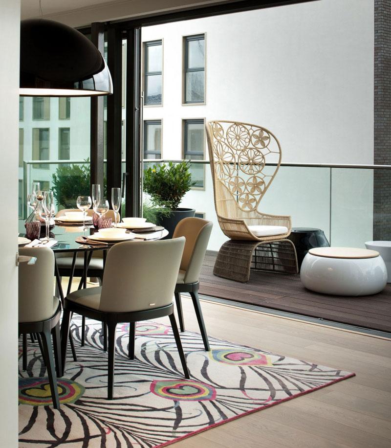 An Elegant Londonese Penthouse Apartment: The Leman Street Residence