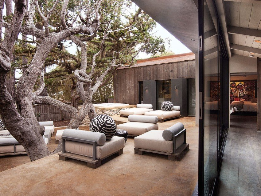 The Pebble Beach Residence Is A Beautiful Renovation Project Surrounded By Natural Elements