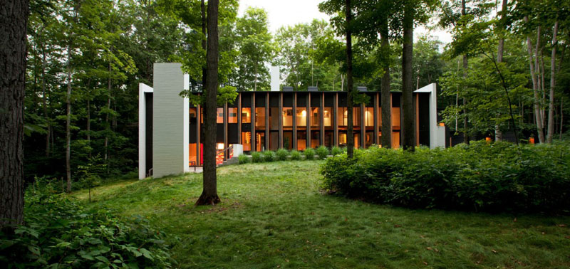 The Yingst Retreat Residence Welcomes Nature Inside
