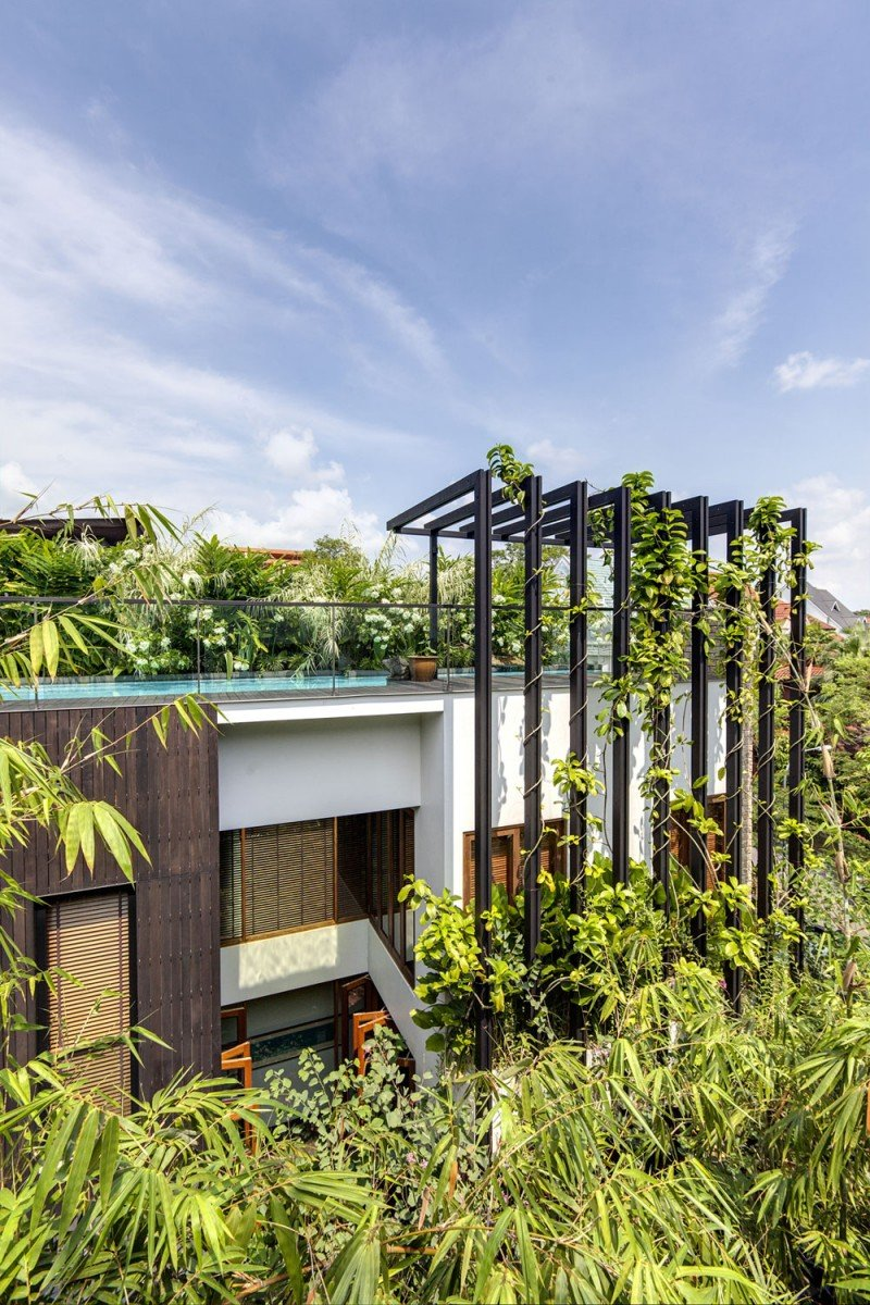 The Amazing Merryn Road 40A Residence Impresses With Its Beautiful Natural Decorations