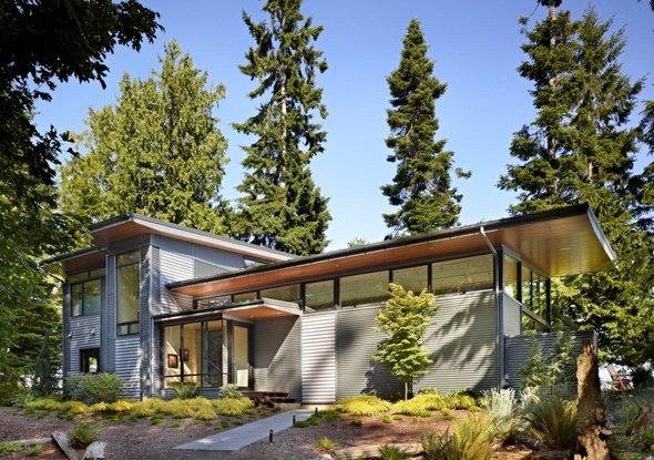 The Port Ludlow Residence Is A Beautiful Eco-Friendly Home