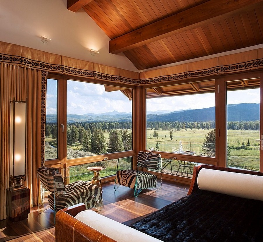 A Lovely Home Defined By Wood And Stone: The Rabbit Brush Residence