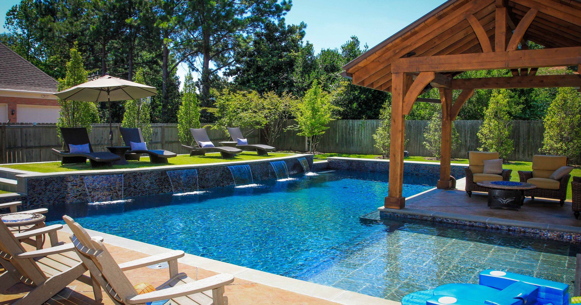 Awesome Backyard Pools backyard pool landscaping ideas