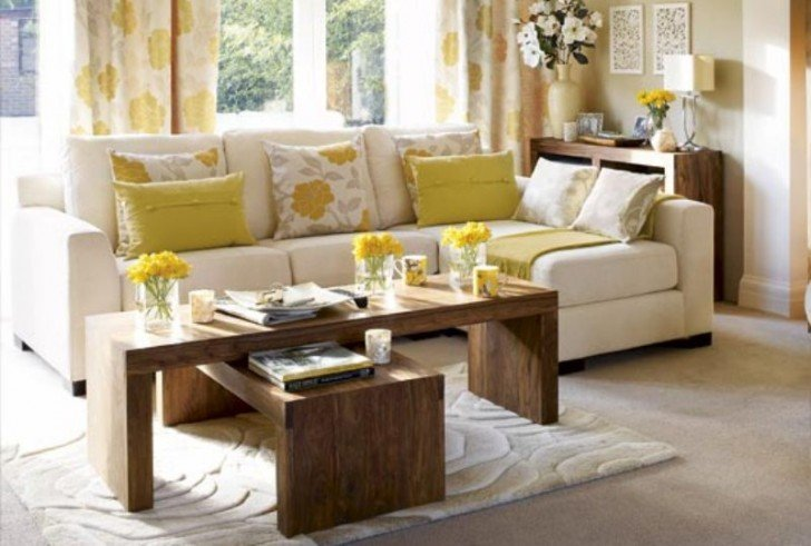 image via wwwgoodhousekeepingcom - Small Living Room Decorating Ideas