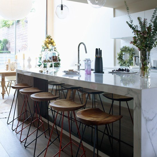 20 Kitchen Island Designs: 20 Of The Most Gorgeous Marble Kitchen Island Ideas