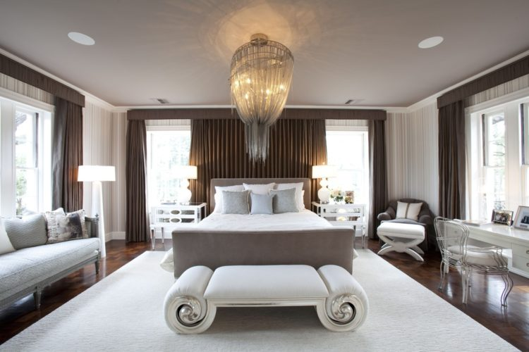 If You Are Wanting To Add A Chandelier Your Master Bedroom And Looking For Ideas Take Look At 20 Beautiful Bedrooms With