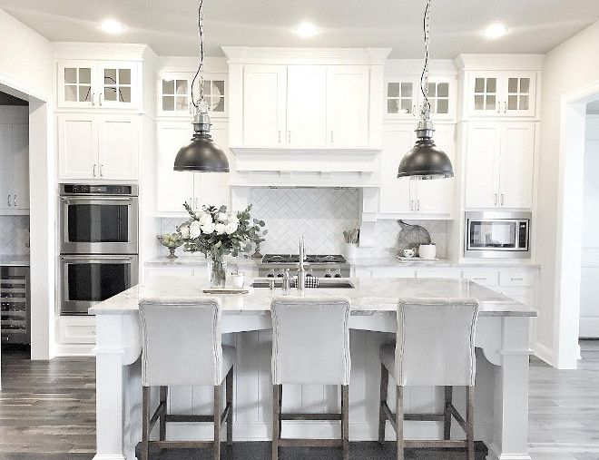 white kitchen. Image Via Www.bestdesignews.com White Kitchen