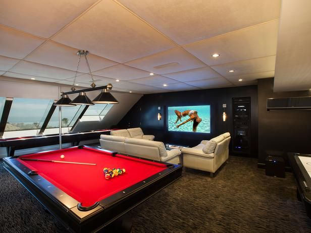 Man Cave Attic : The ultimate man cave loft conversion for modern