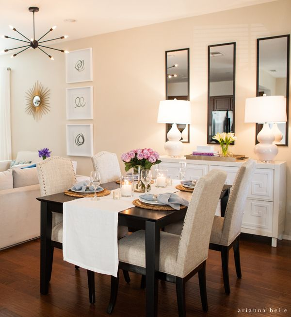 Small Kitchen Big Dining Room Table