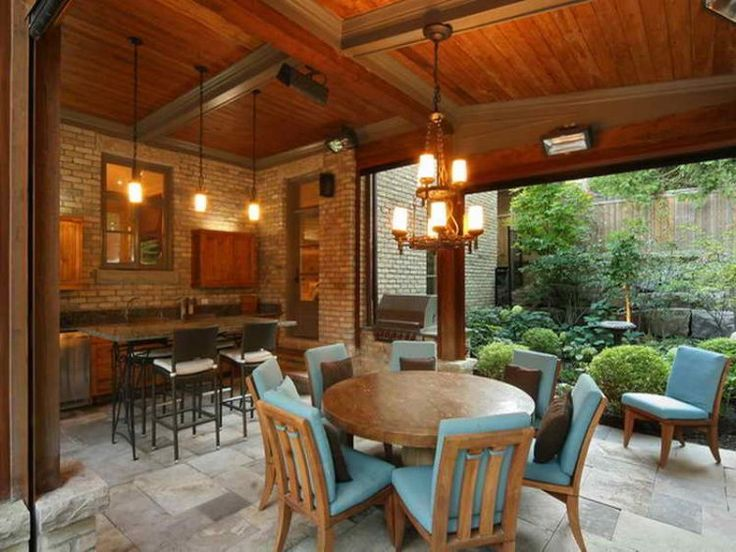 20 Stunning Patio Ideas Perfect for Entertaining Guests on Covered Pool Patio Ideas id=77037