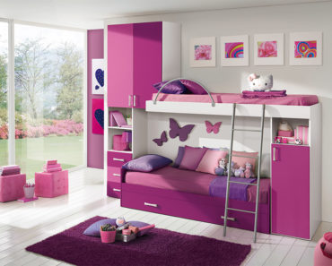 20 Beautiful Children's Room Designs with Bunkbeds
