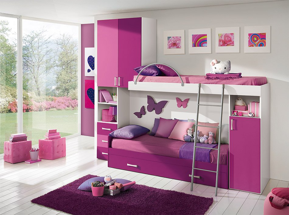 toddler girl bedroom furniture 20 beautiful children s room designs with bunkbeds 17538
