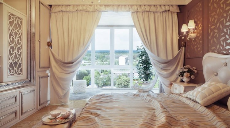 20 Beautiful Curtain Ideas For The Bedroom