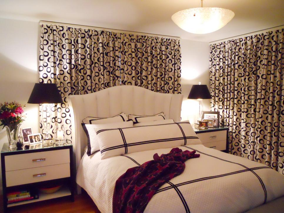 Attractive 20 Beautiful Curtain Ideas For The Bedroom