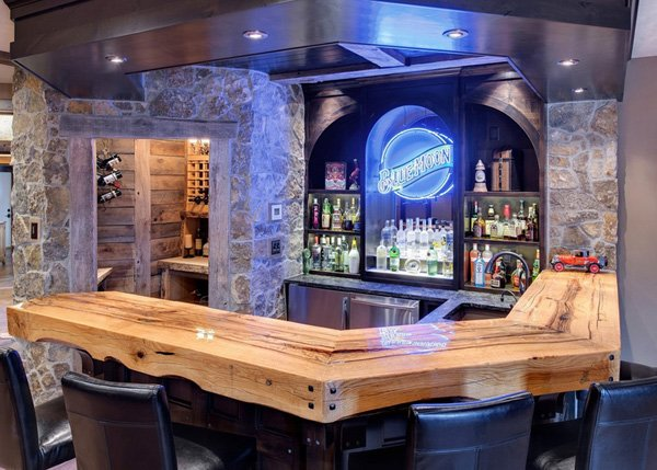 If You Like The Idea Of Having An Awesome Bar In Your Home For Entertaining  And Relaxing At The End Of A Long Day, Why Not Design And Build Your Own  Home ...