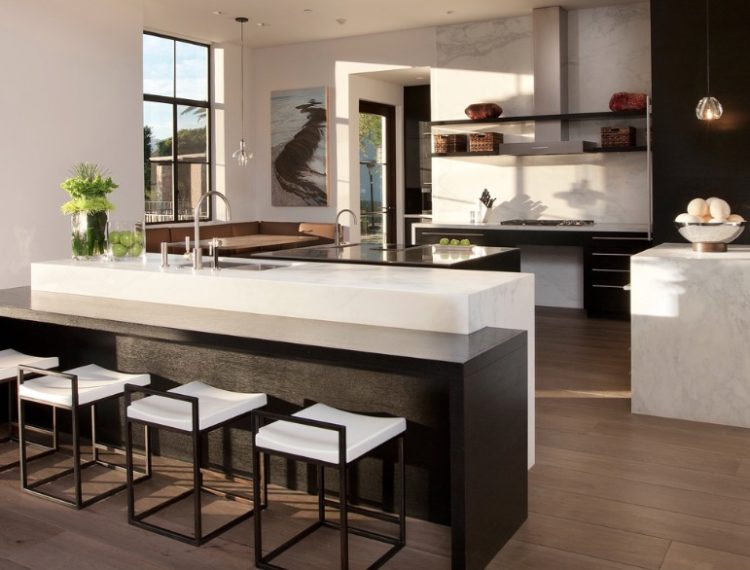 20 of the Most Beautiful Modern Kitchen Ideas on Modern Kitchen Countertop Decor  id=51272
