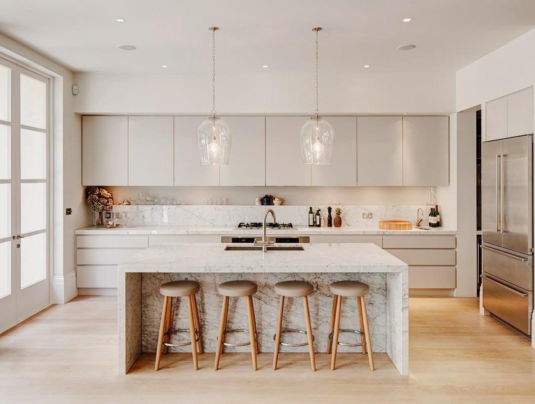 most modern kitchen design.  20 Of The Most Beautiful Modern Kitchen Ideas
