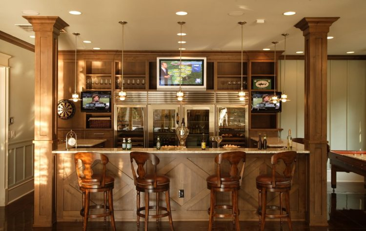 20 Of The Most Exquisite Home Bar Designs