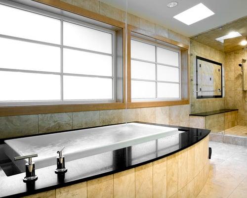 20 bathroom designs with infinity bathtubs - Bathroom Designs With Bathtubs