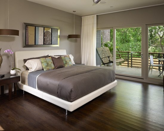20 Master Bedroom Designs with Wooden Floors