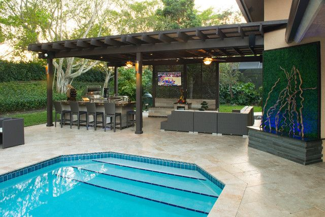 outdoor kitchen designs with pool 20 gorgeous poolside outdoor kitchen designs 7237