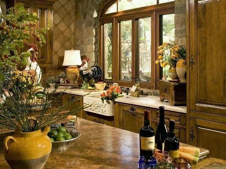 20 gorgeous kitchen designs with tuscan decor - Tuscan Design Ideas