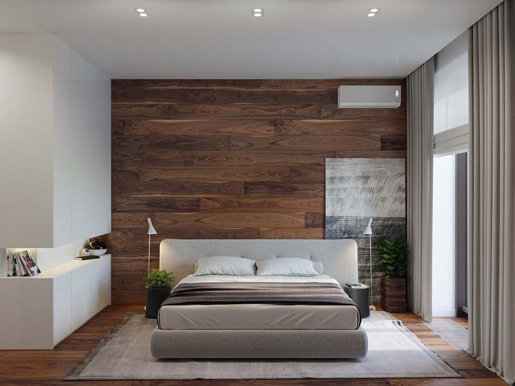 20 Unique Bedroom Designs With Wood Walls
